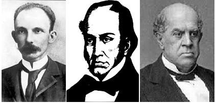 Cartas a Martí, Sarmiento y Simón Rodríguez